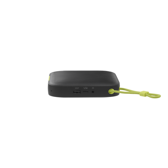 ClearCall - Black - Portable USB and Bluetooth speakerphone - Back
