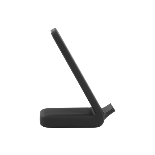 InstantStation Wireless Stand - Black - Wireless charging stand with 33W PD USB-C and USB-A fast charging - Right