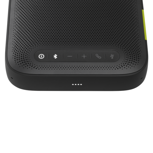 ClearCall - Black - Portable USB and Bluetooth speakerphone - Detailshot 1