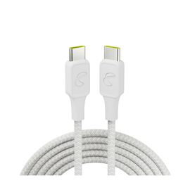 InstantConnect USB-C to USB-C - White - 100W PD ultra-fast charging cable for USB-C device - Hero